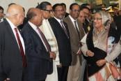 Prime minister arrives in Dhaka
