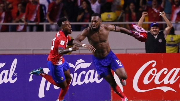Costa Rica clinches World Cup berth on Waston's late goal