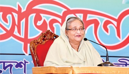 Padma Bridge with own  fund a befitting reply: PM