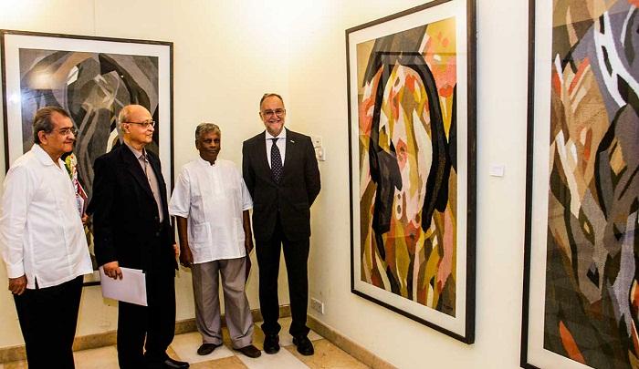 Tajul Islam's weeklong solo tapestry exhibition starts
