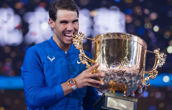Rafael Nadal demolishes Nick Kyrgios to win China Open