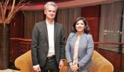 Microsoft top official visits Dhaka