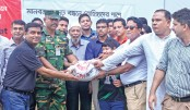 GPH, Crown Cement distribute relief goods among Rohingyas