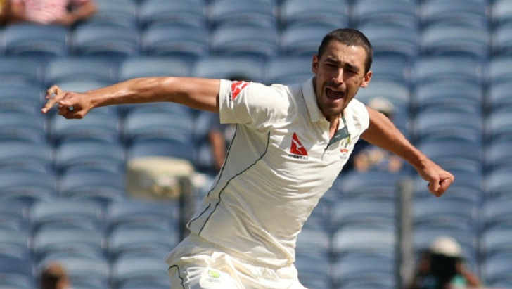 Starc urges fans to 'get stuck into' Stokes