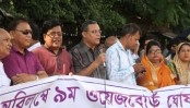 Journalists stage demos for 9th wage board
