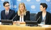 Nobel winner says goal is to make nukes unacceptable