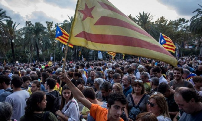 Madrid scorns Catalan leader's independence statement