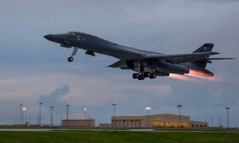 North Korea crisis: US bombers conduct military drills