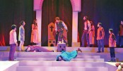 Hamlet staged at Shilpakala Academy