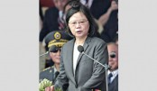 Taiwan to bolster military but still seeks peace: President
