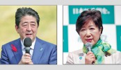 Abe, Koike trade blows as Japan election campaign kicks off