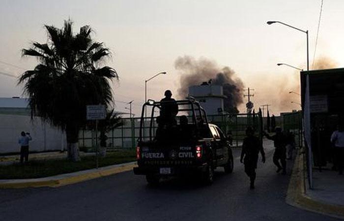 13 dead in prison riot in northern Mexico
