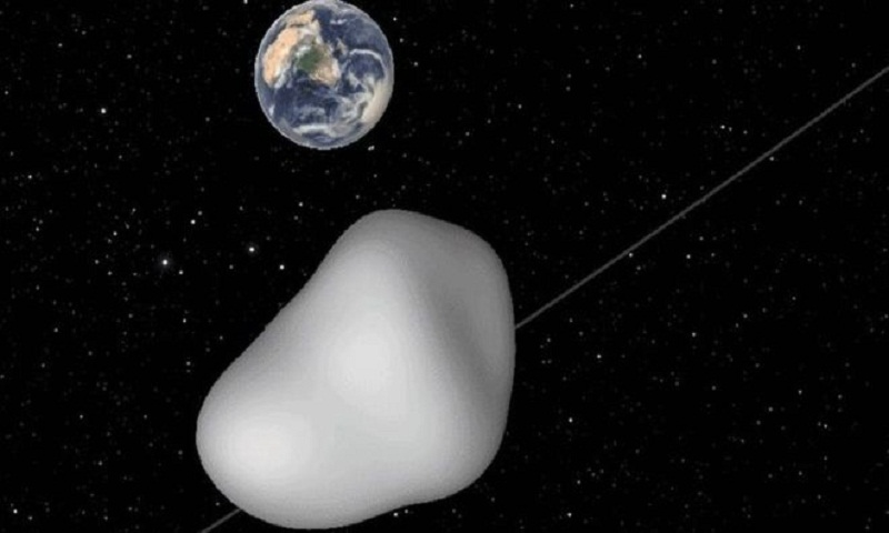 Asteroid close approach to test warning systems