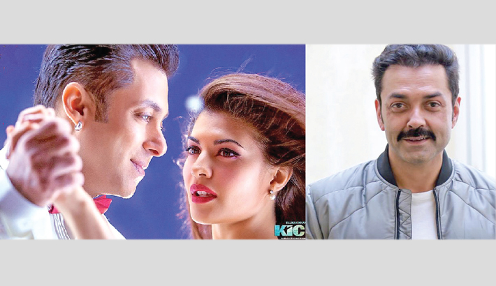 Bobby Deol joins Salman and Jacqueline in Race 3