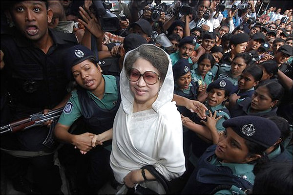Undermining flag: Court issues arrest warrant for Khaleda