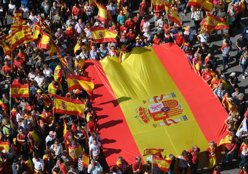 Catalonia: Spain celebrates National Day amid political turmoil
