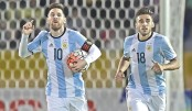 Messi hat-trick rescues Argentina