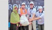 IUB distributes relief among Rohingyas