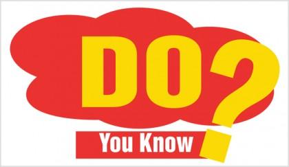 Do You Know? | 2017-10-12