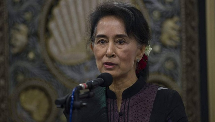 Myanmar's Suu Kyi prioritizes repatriation of Rohingya Muslims