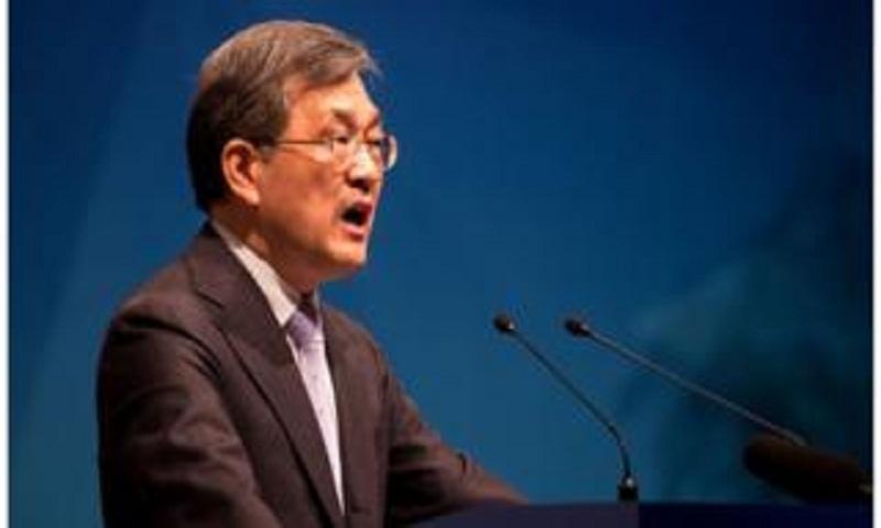 Samsung Electronics CEO resigns over 'unprecedented crisis'
