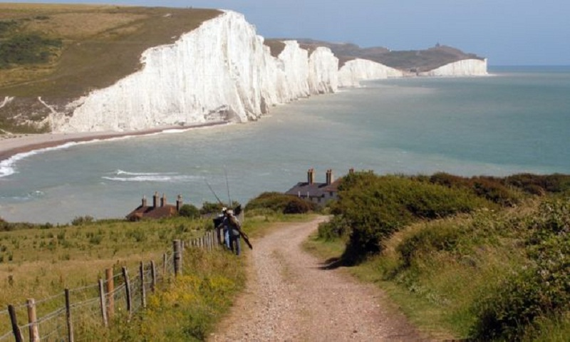 Student fell off Seven Sisters cliff 'posing for photo'