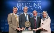 icddr,b honoured with humanitarian award