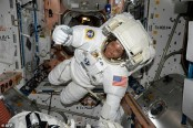 Space is not all pleasant: US Astronaut