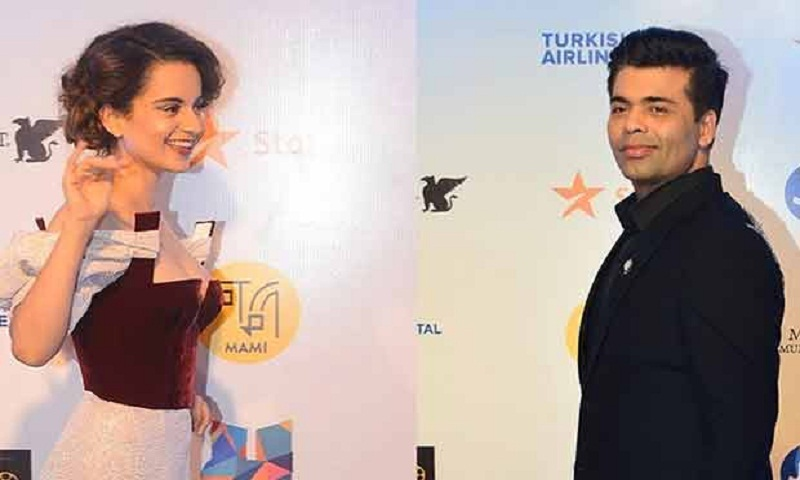 What happened when Kangana Ranaut and Karan Johar came face-to-face