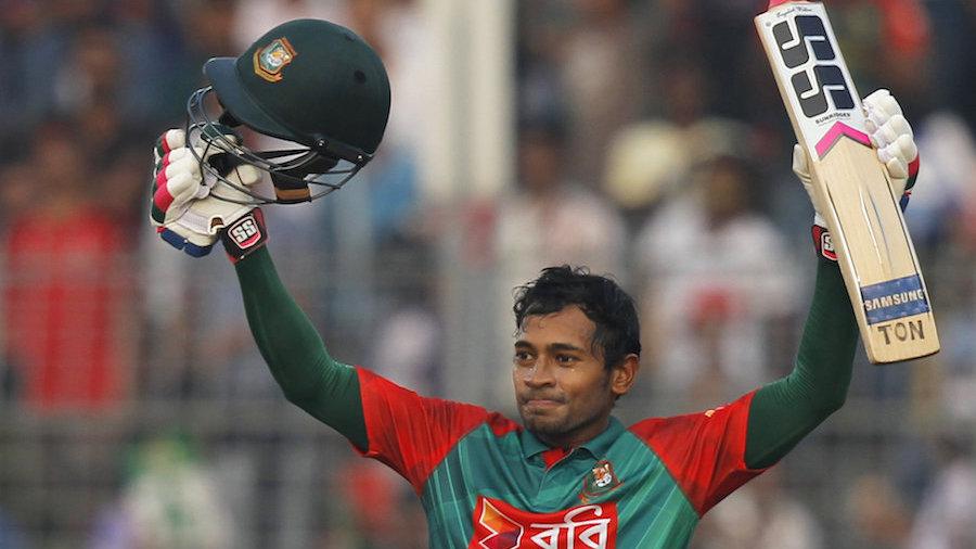 Mushfiqur hits century, Bangladesh  239/5