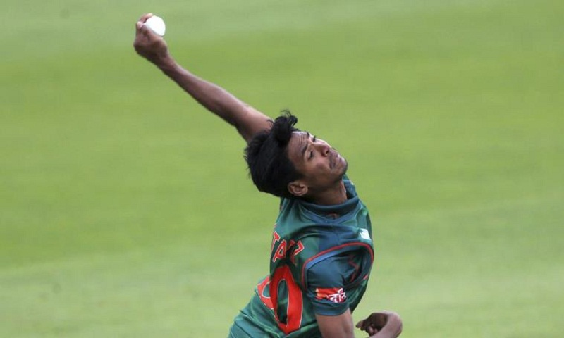 Mustafizur Rahman ruled out of first ODI due to ankle injury