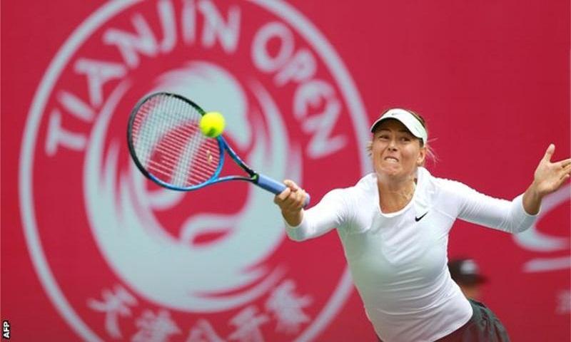 Maria Sharapova beats Aryna Sabalenka to win Tianjin Open title
