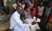 Conjoined twins survive gruelling journey to separation