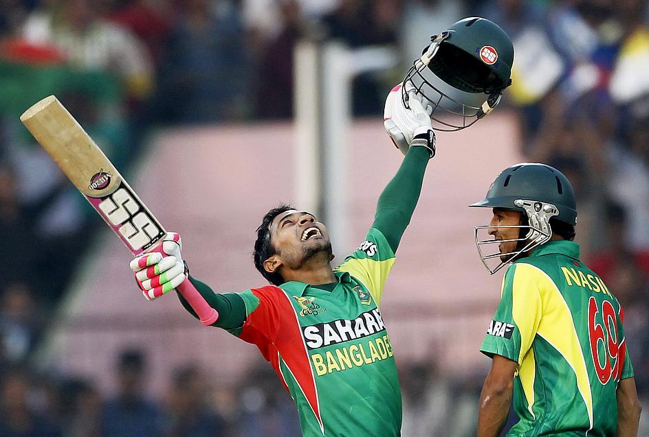 Mushfiqur's ton helps Bangladesh to set 279-run target for South Africa