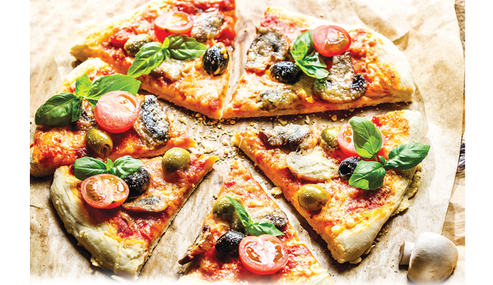 Perfect Pizza For Afternoon Snack