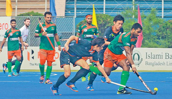 Japan jolt Bangladesh in hockey