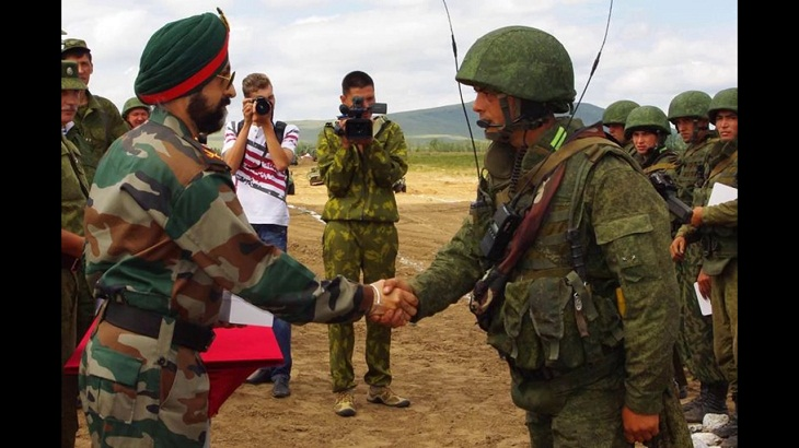 India, Russia to hold first 'tri-service' war games