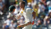 David Warner calls Ashes 'war'