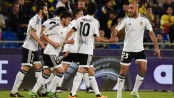 Valencia thrashes Real Betis 6-3 to move 2nd in Spain