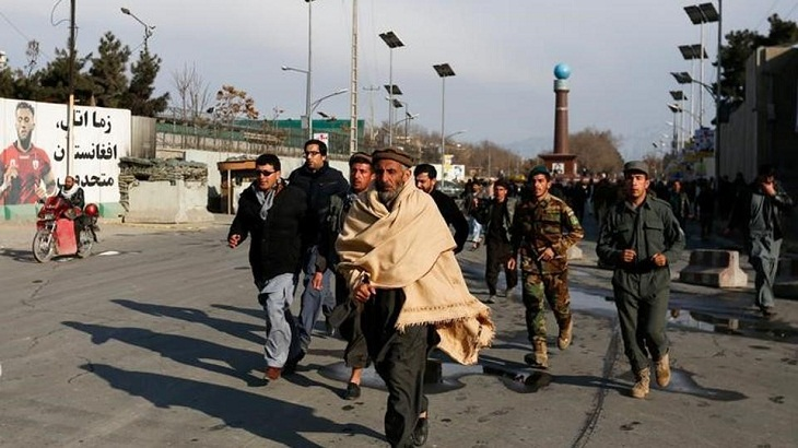 Death toll hits 32 in attack on Afghan police