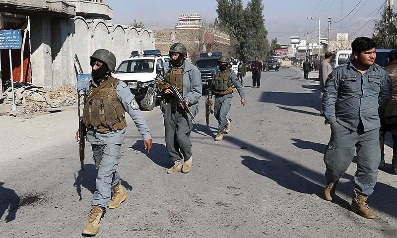 Afghan officials: Taliban attacks kill 10 policemen