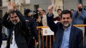 Two Catalan separatists in Spanish custody