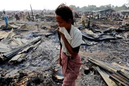 New satellite images confirm mass destruction in Rakhine