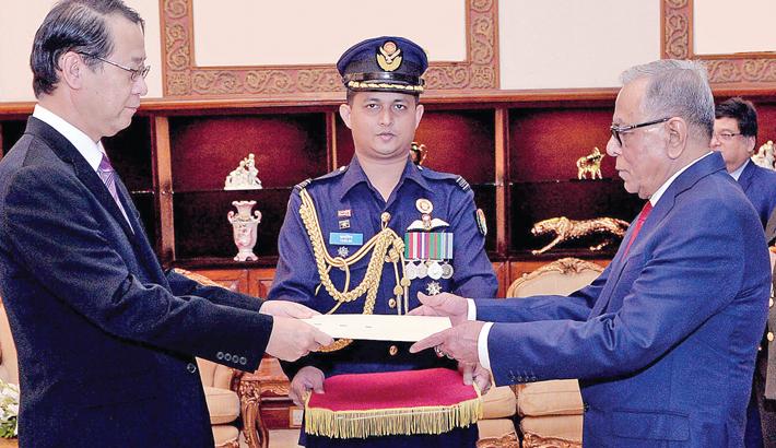 Newly-appointed Ambassadors to Bangladesh