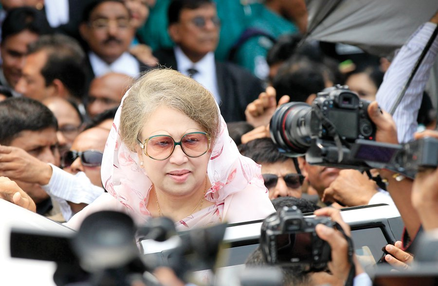 Khaleda returns home today