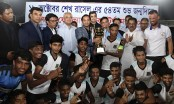 Football tourney held in memory of Sheikh Russel