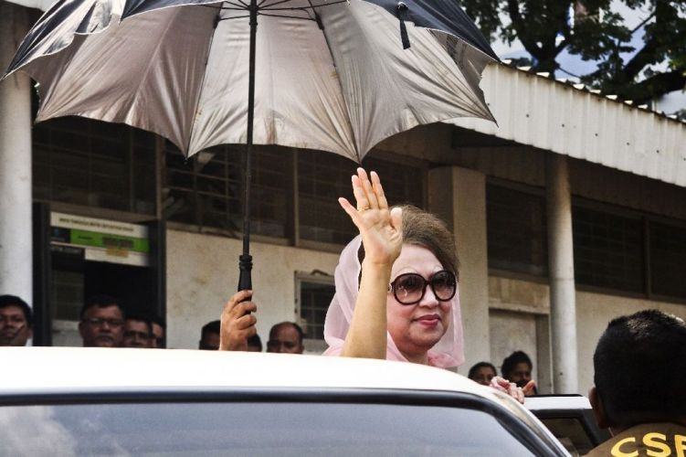 Khaleda gets conditional bail in graft cases
