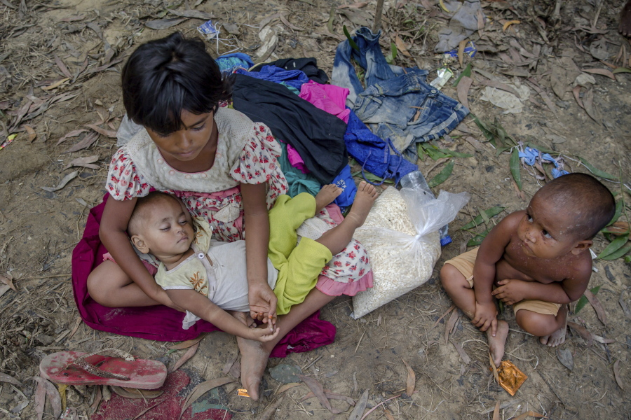 The Rohingya children robbed of their childhood