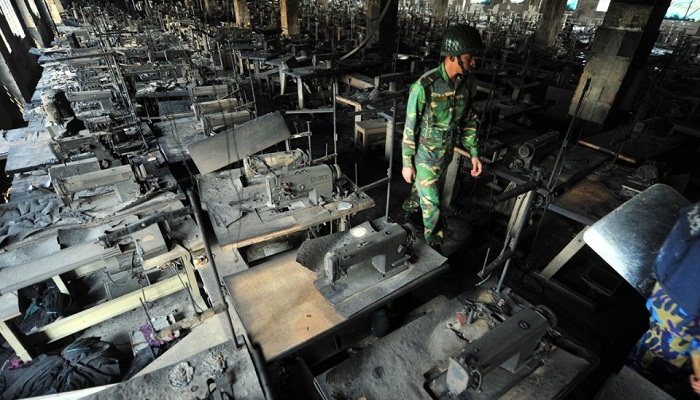Trial stuck in Tazreen factory fire cases