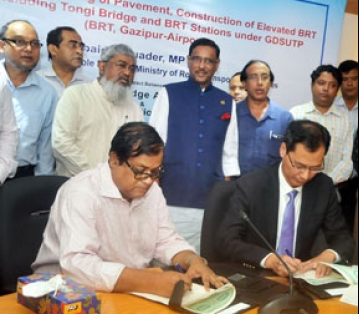 Works of Uttara-Tongi flyover and Tongi Bridge to start soon